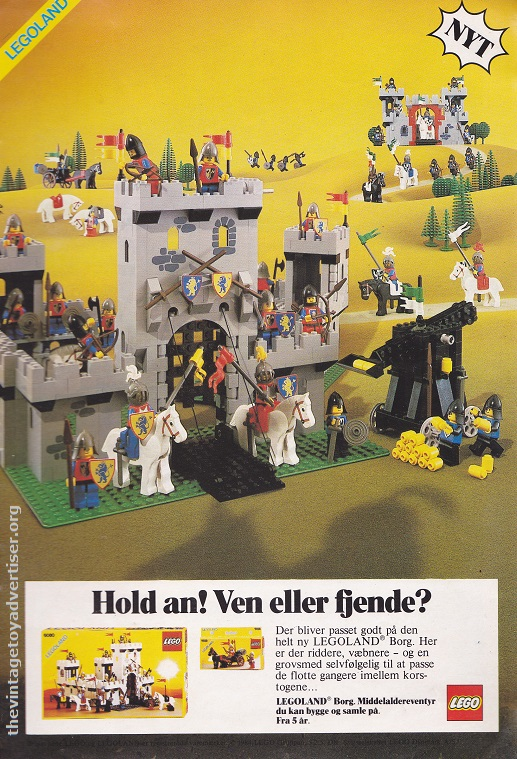 Denmark. 1984. Featuring Lego sets