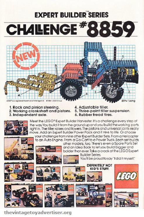 US. 1981. Lego set 8859.