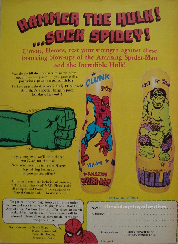 UK. The Mighty World of Marvel. 1979.