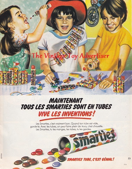 Pif 444. 1977. Smarties big WordPresswm