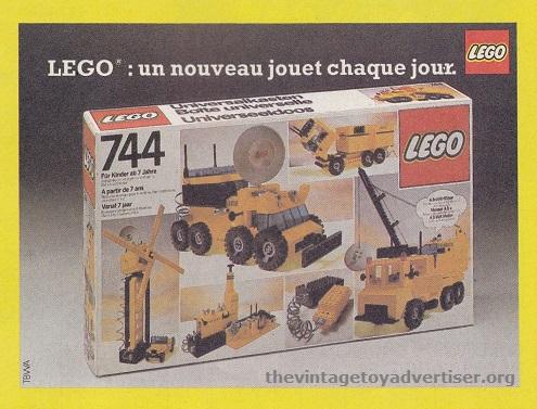 France. 1981. Lego set 744.