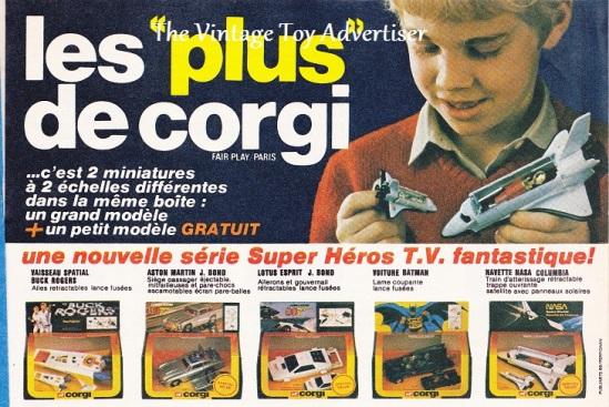 Pif 680 1982 Corgi Super heros TVwm