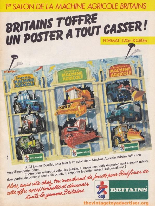 PIF 744. Britains Farm vehicles 1983