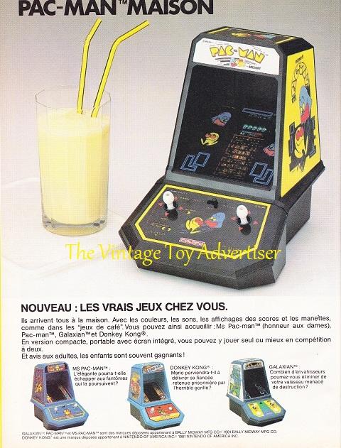 Pif. 765.PacMan maison. 1983 WordPresswm