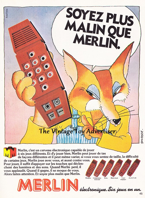 Pif Gadget 601 Sept 1980_ Merlin Renard POST