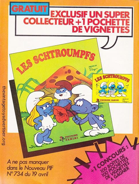 France. Pif Gadget 733. 1983.