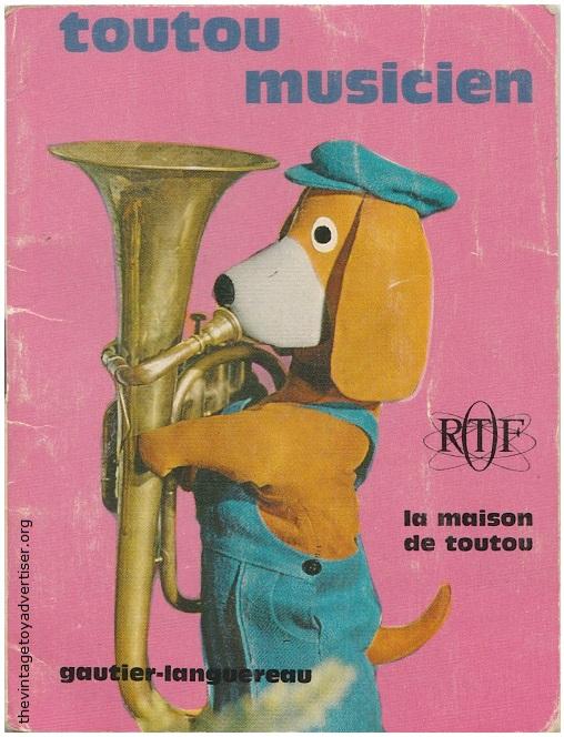 toutou musicien 1974 orig 1967 Gautier Languereau POST