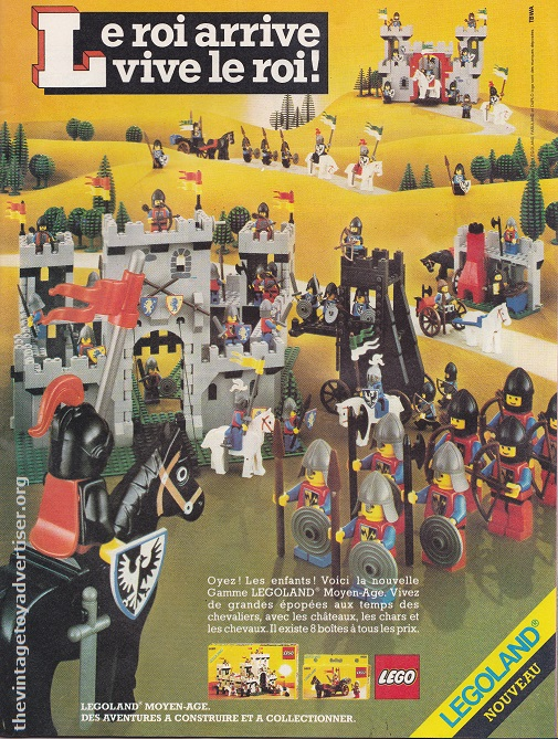 France. 1983. Featuring Lego sets