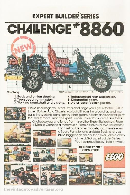US. 1981. Lego set 8860.
