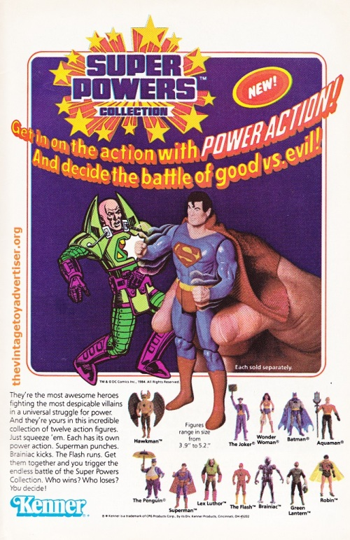 Justice League America. 234. 1984. Superpowers