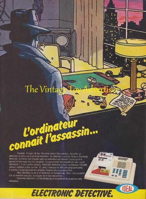 PIF 715. Electronic Detective.1982 WordPresswm
