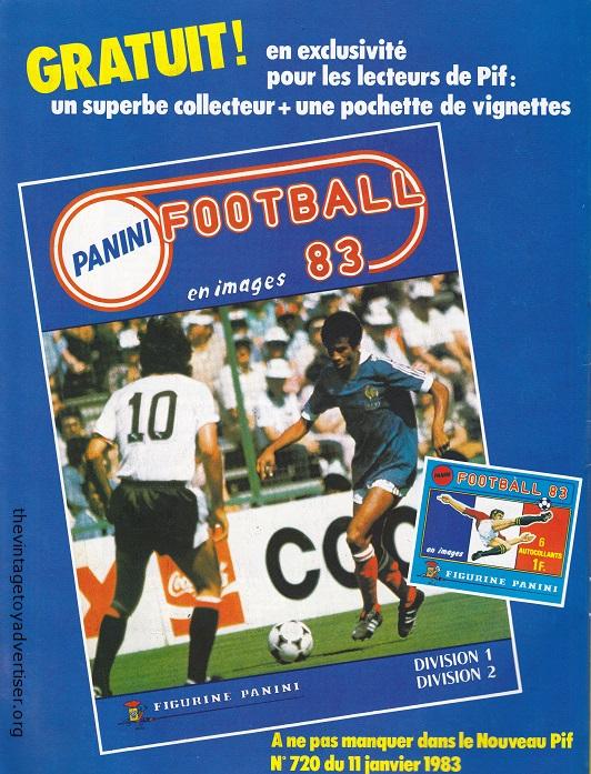 france pif gadgetn 719 1983