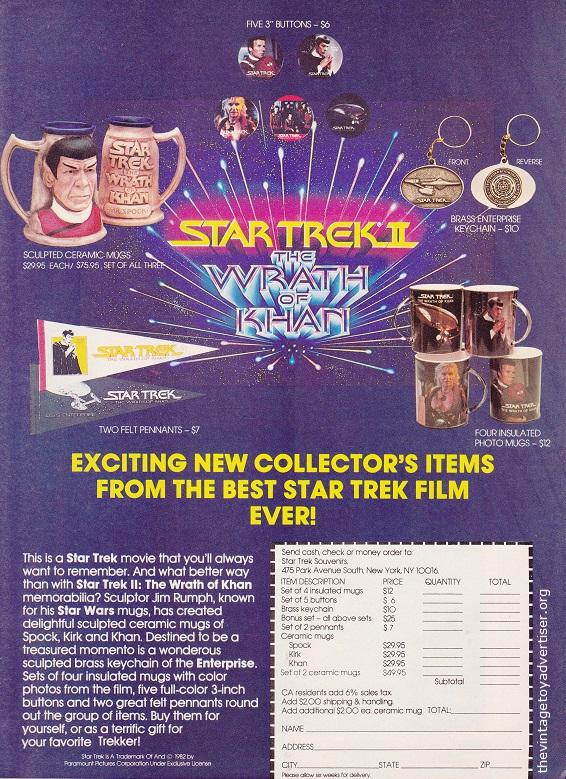 USA. Starlog 65. 1982.