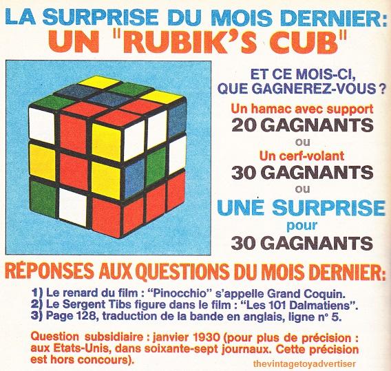 6c6af3bdbb4b Rubik's Cube | The Vintage Toy Advertiser