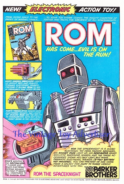 Iron Man. 129. 1979. ROM electronic toy figure WORDPRESS wm