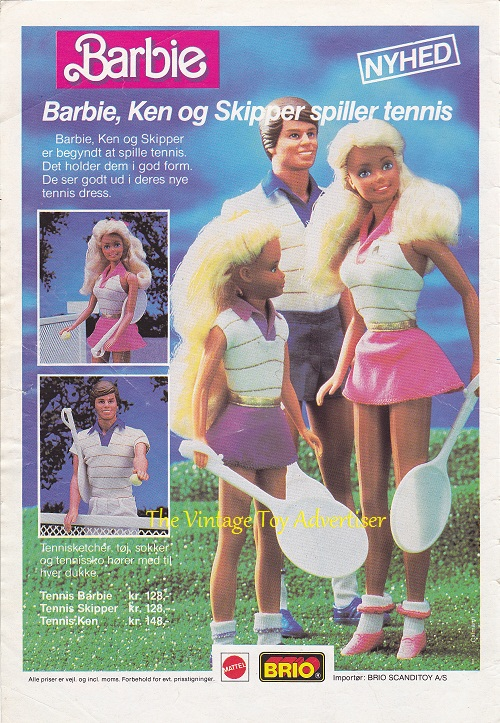 Anders. 22. 1987. Barbie Tenniswm