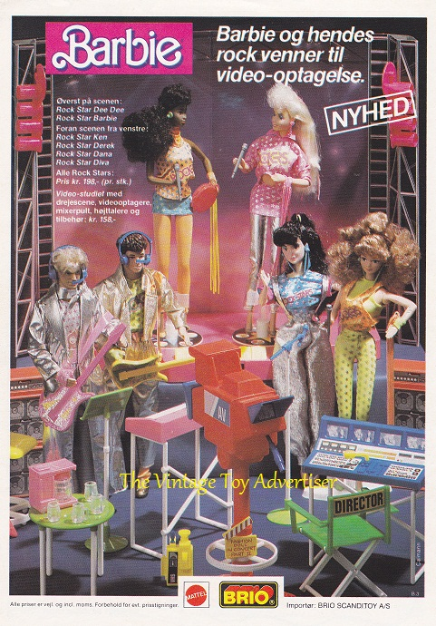 Anders. C 1986. Barbie Rock Starswm