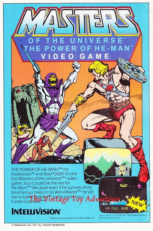 DC. Legion of Superheroes. 2. 1984. MOTU Intellivisionwm