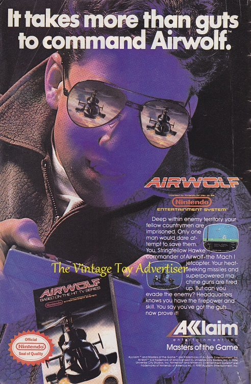 DC. Starman. 12. 1989. Airwolf Acclaim video gamewm