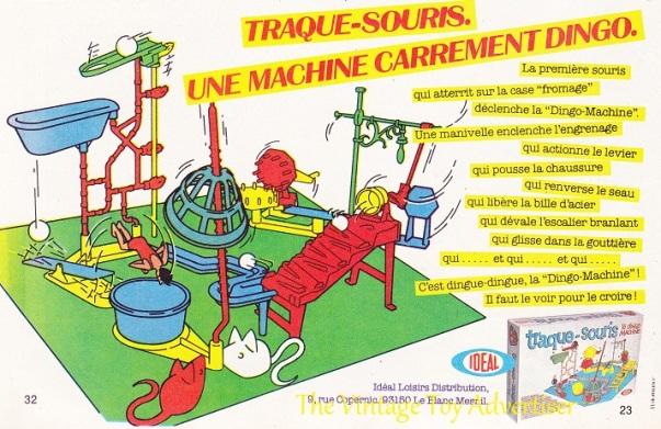 Pif 608 1980 Mouse Trap Traque Souris Idealwm