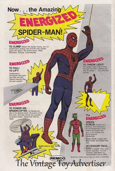 The Defenders. 67. 1978. Energized Spiderman WordPresswm