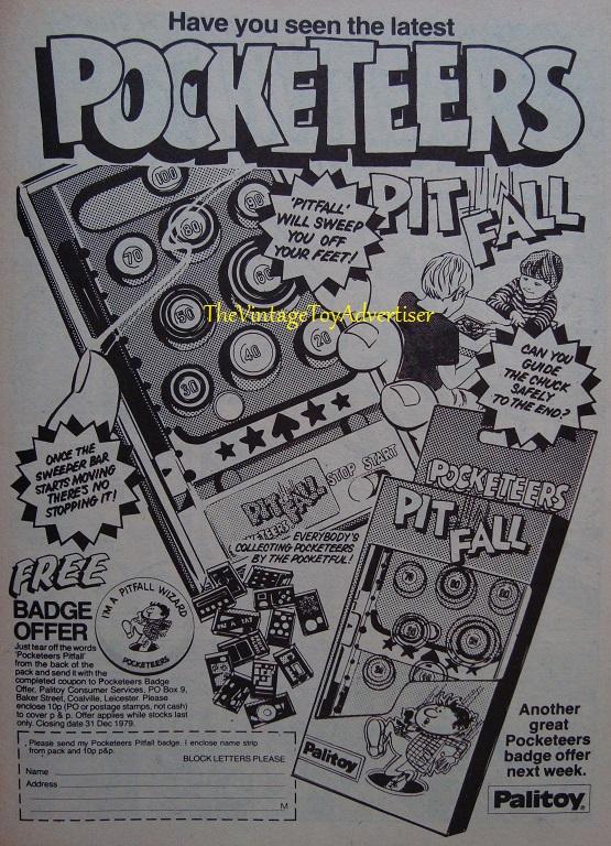 Pocketeers Pitfall Marvel Comics 339 1979