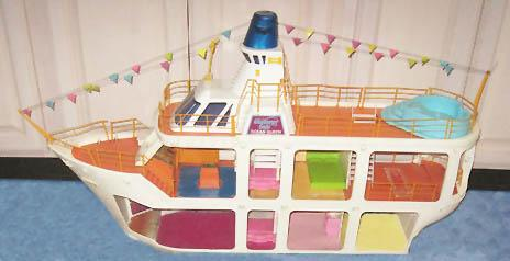 In the 80s GG Cruise ship
