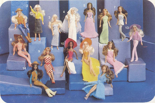 Disque Des Glamour Girls The Vintage Toy Advertiser