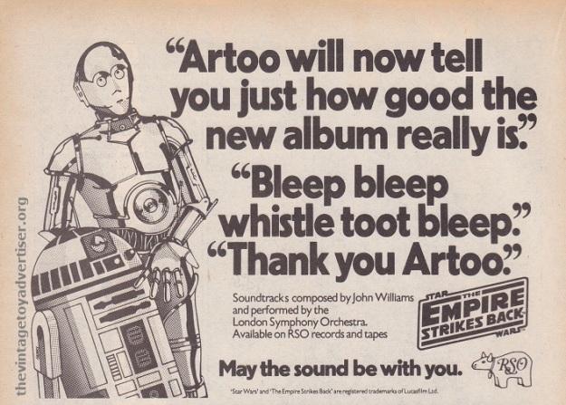 Marvel TESB Weekly UK 122 1980 ESB Soundtracks POST