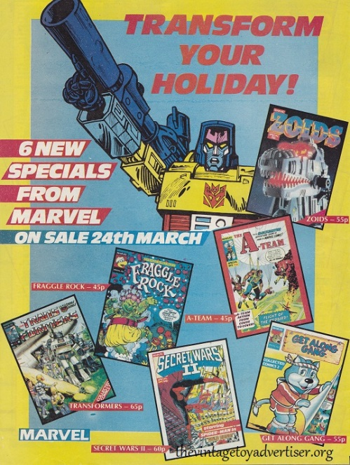 ROTJ UK 148 1986 Transform your holiday POST