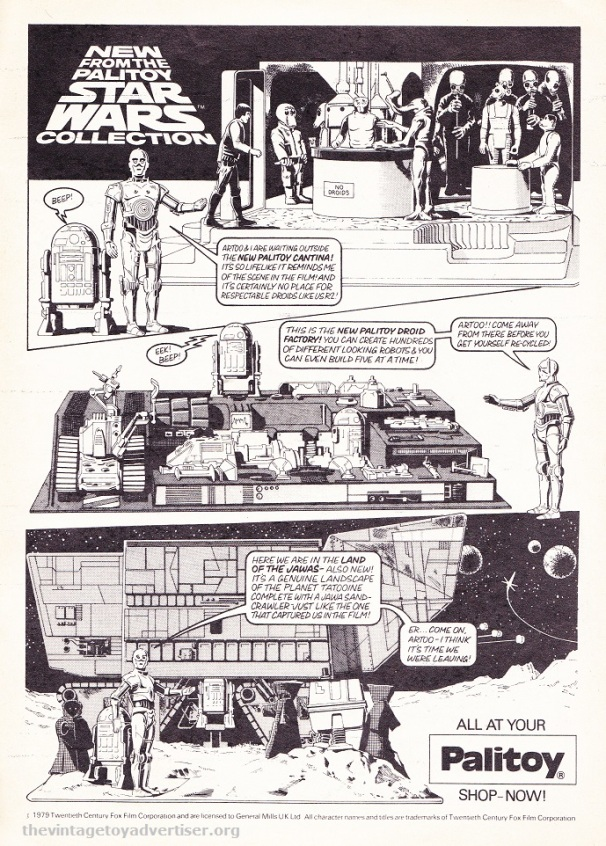 Star Wars Weekly comic No 89 1979 Palitoy POST