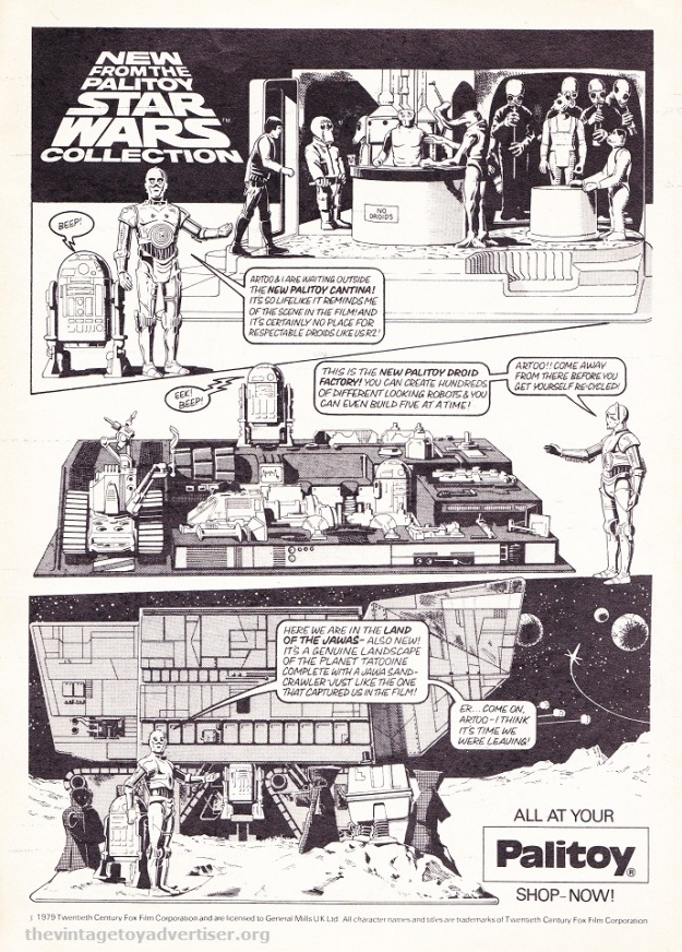 Star Wars Weekly comic No 89 1979 Palitoy POST