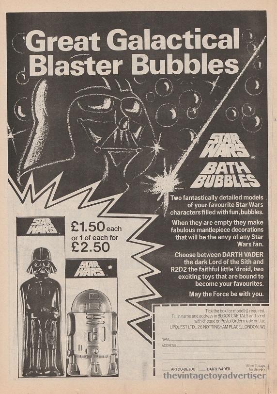 SW Bath Bubbles SWWeekly 1978 UK