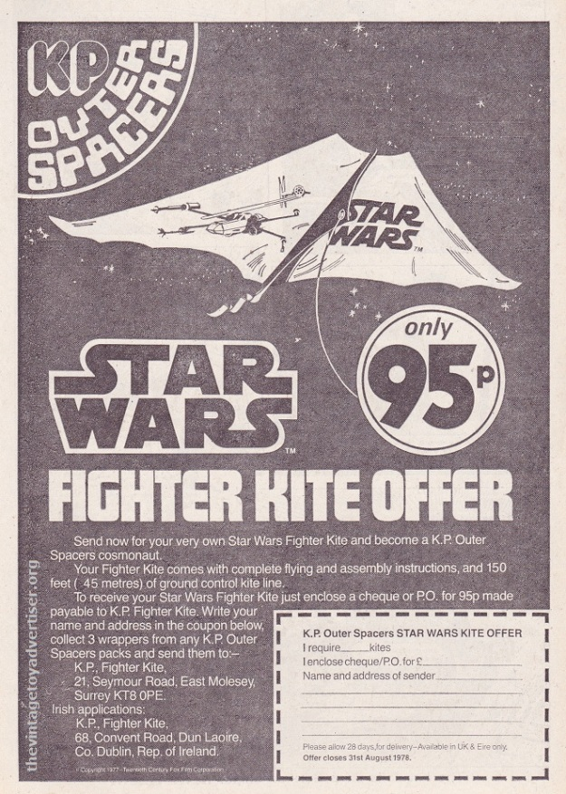 SW KP Outer Spacers Kite 1977 POST