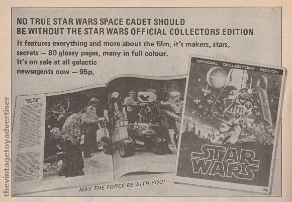 SW Official Collectors Edition SWWeekly 1978 UK