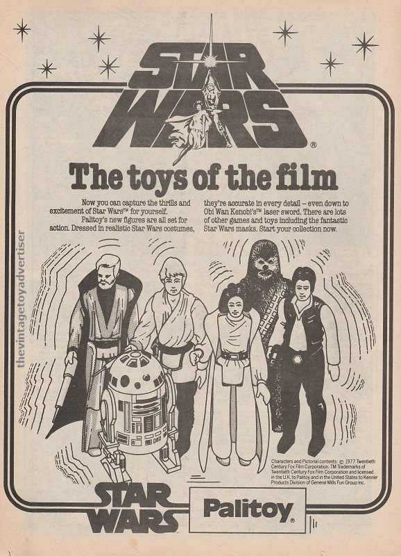 SW Palitoy Toys of the Film SWWeekly 1978 UK