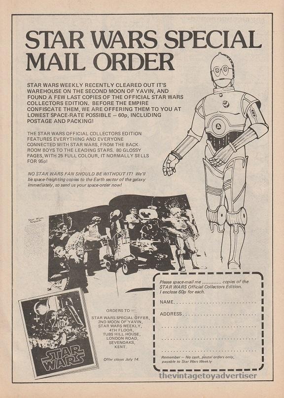 UK. Star Wars Weekly. 1978.