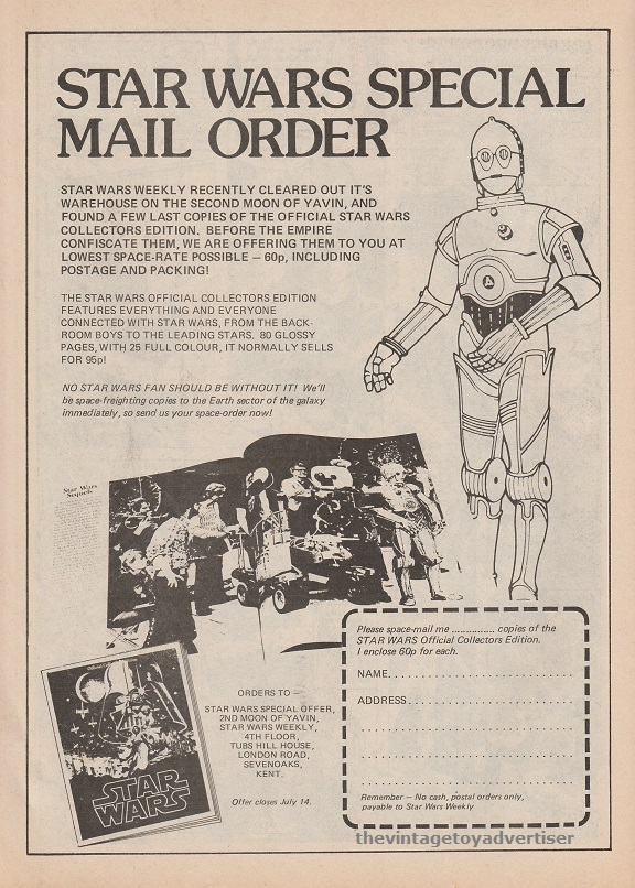 SW Special Mail Order SWWeekly 1978 UK