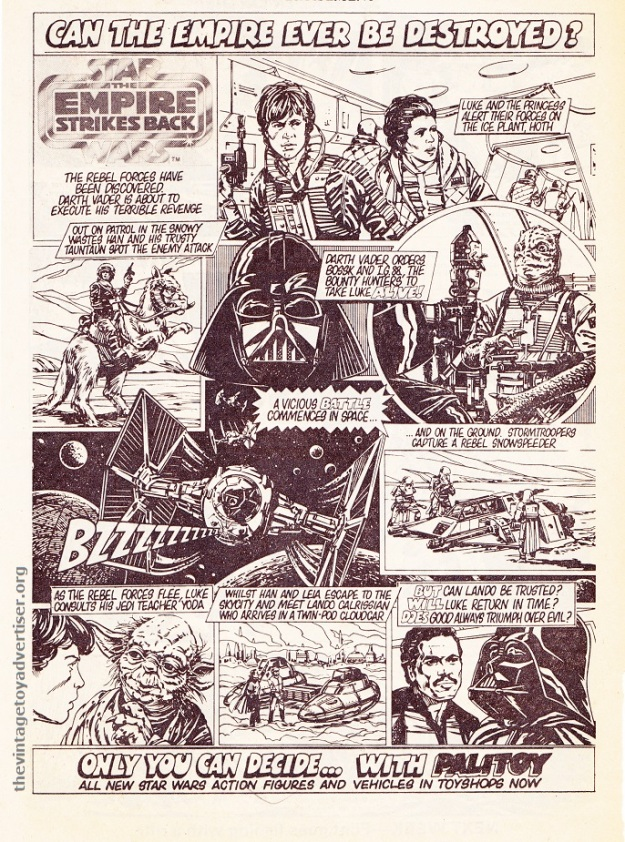SW UK Palitoy Can the empire ever be saved 1980 POST