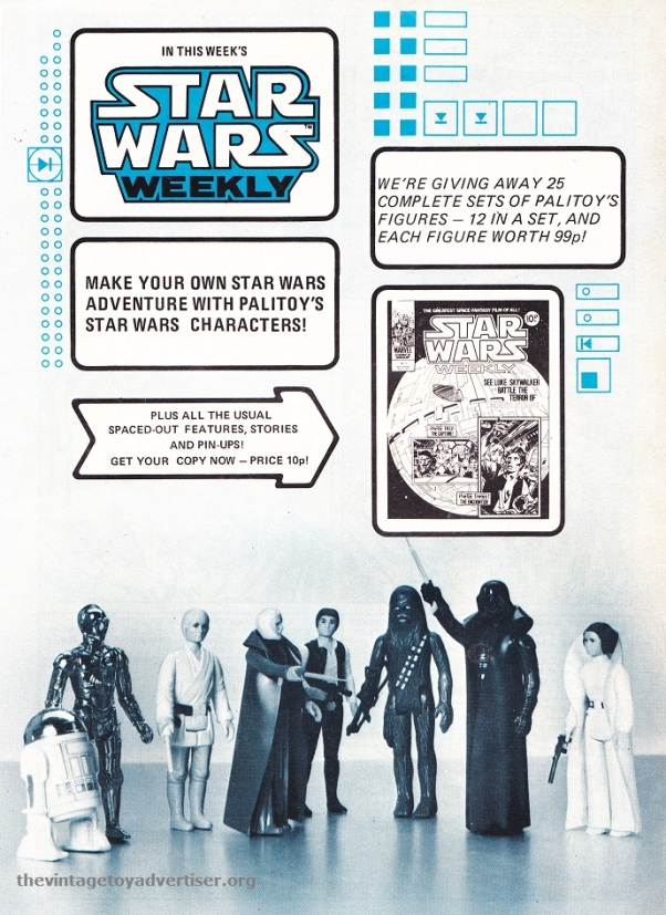 SW UK Palitoy figures 1978 POST