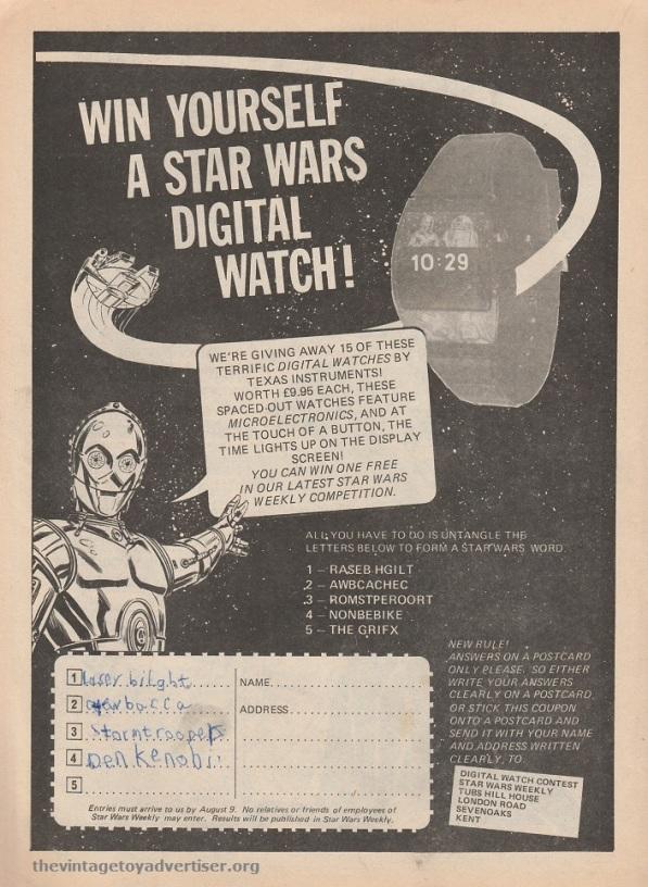 SWWeekly 25 1978 SW Win a Digital Watch POST