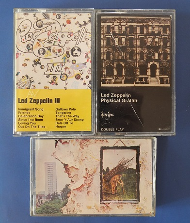 Led Zep - tape format style.