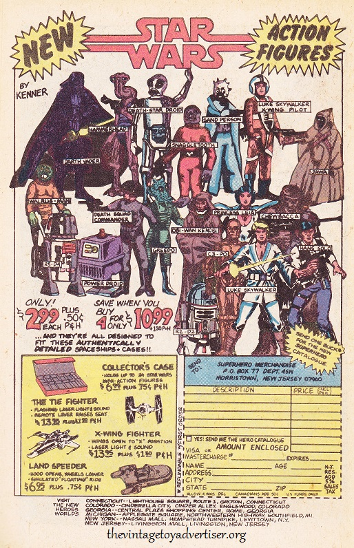 USA. Marvel Star Wars. 1978.