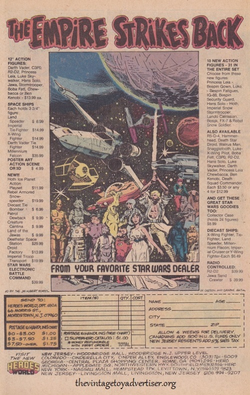 USA. Marvel Star Wars. 1980.