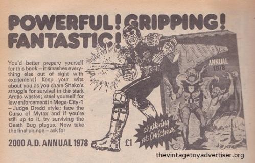 2000 AD. 1977.