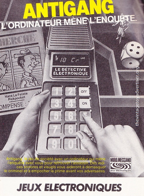 Pif Gadget 712 1982 MM jeu elec 03a