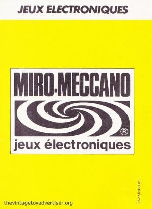 Pif Gadget 712 1982 MM jeu elec 03b