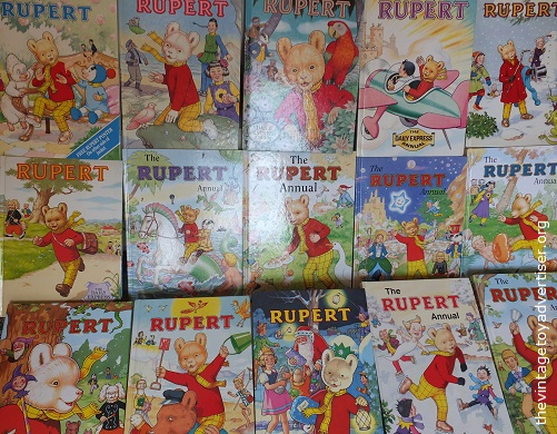 A few of my Rupert annuals.