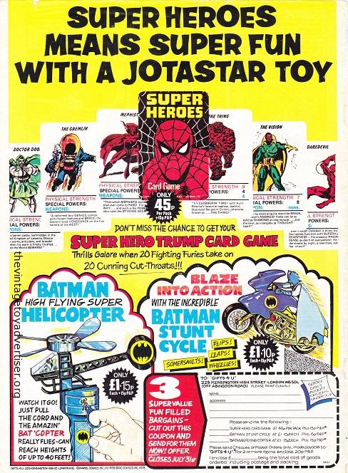 UK. Mighty World of Marvel 295. 1978.