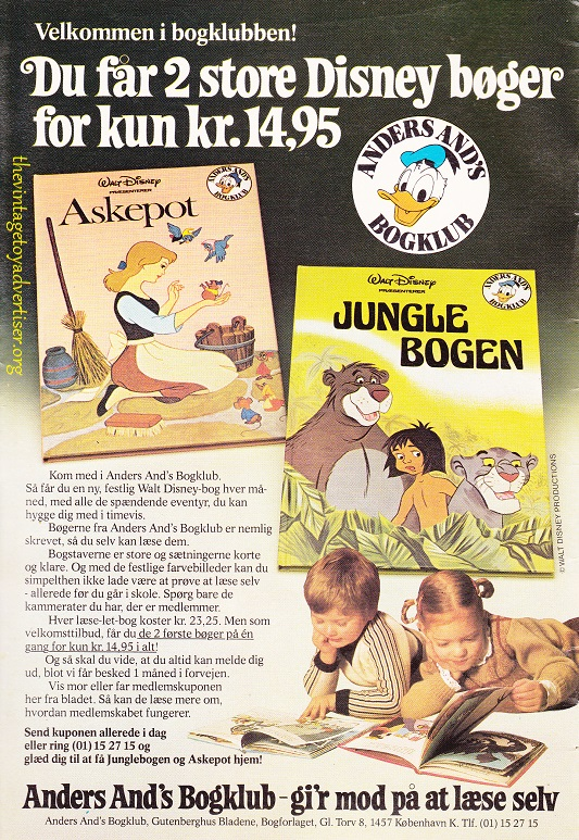 Denmark. Anders And & Co. 1979.